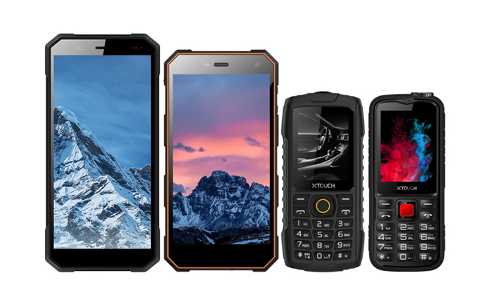 XTouch's-XBot-Family-phones