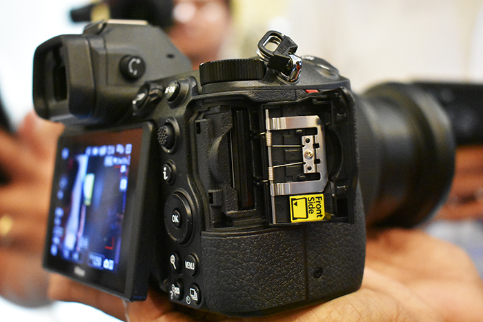 Nikon_Z7& Z6 uses XQD-card-drive for storage of images and videos