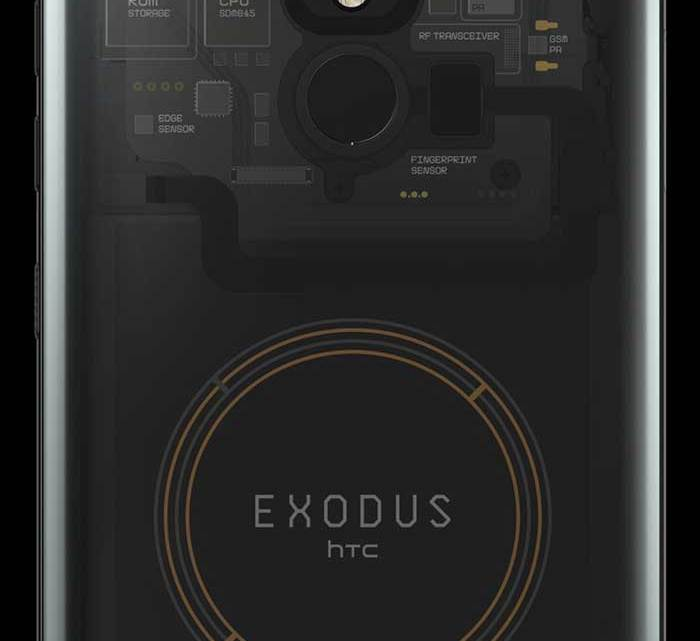 HTC launches 'Exodus 1'