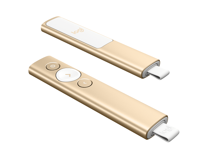 Logitech Spotlight Presentation Remote - Gold