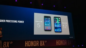 Honor 8X vs Samsung Galaxy A6- Processing power compared