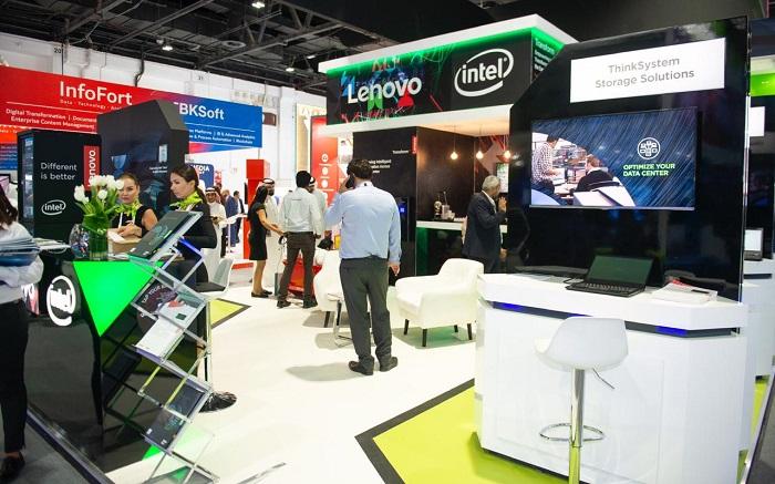 Lenovo GITEX 2018 - stand -1