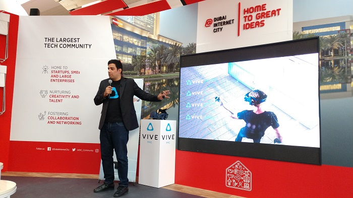 Ramit Harisinghani, VP and head of Middle East & Africa at HTC Vive