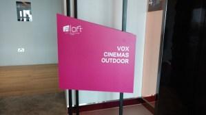 VOX Outdoor Cinema on 4th Floor