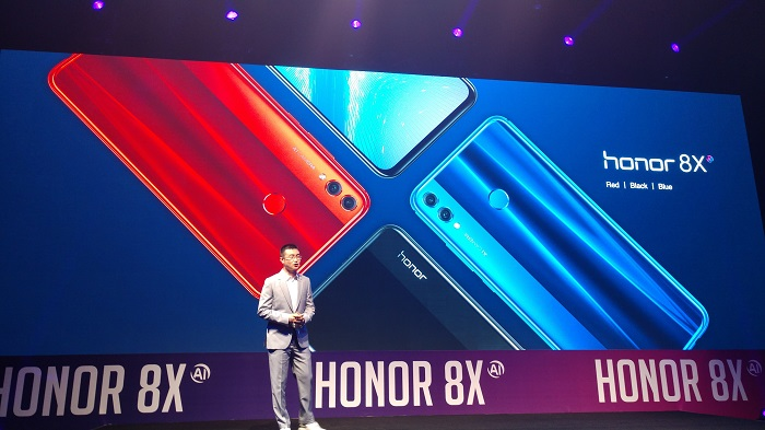 honor 8X smartphone_ colors