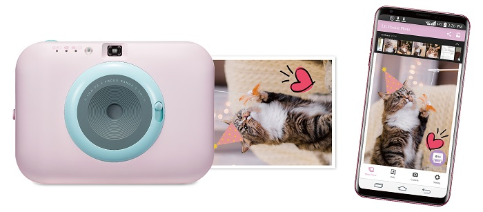 LG introduces Pocket Photo Snap camera
