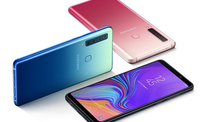 The world's first rear quad camera Samsung Galaxy A9, pre-order available for UAE market