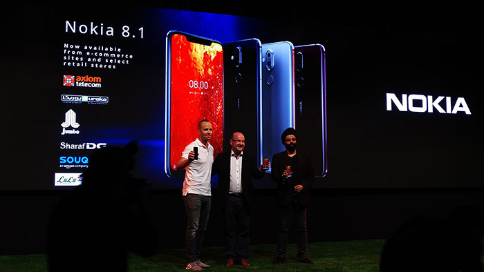 HMD Global's Nokia 8.1 smartphone launched at AED1499 for UAE