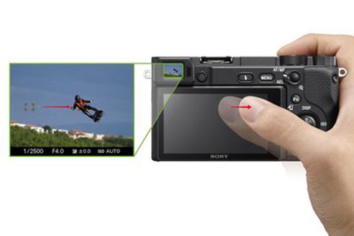 Sony_α6400-Touch-panel