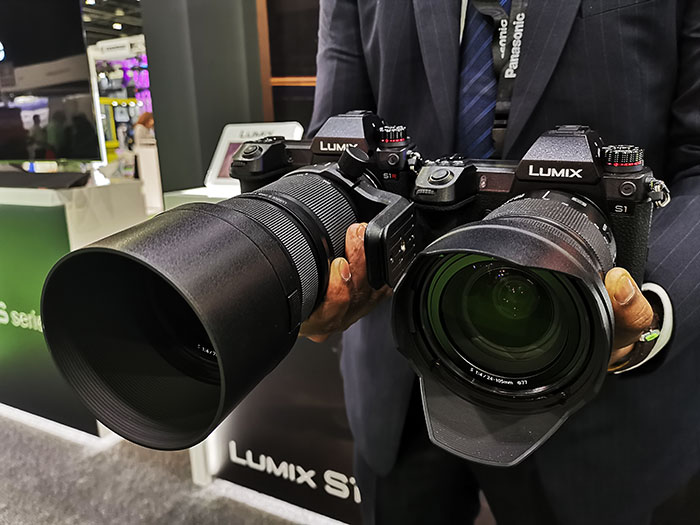 Panasonic's launches LUMIX S Full-Frame Mirrorless Cameras for Middle East