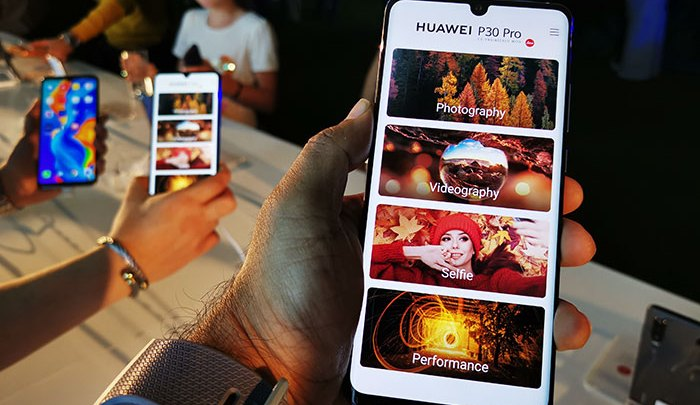 Huawei launches the Huawei P30 series smartphones for the Middle East and Africa