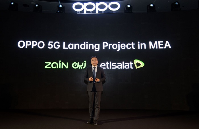 OPPO 5G Landing Project in MEA announced by Andy Shi, President MEA, OPPO