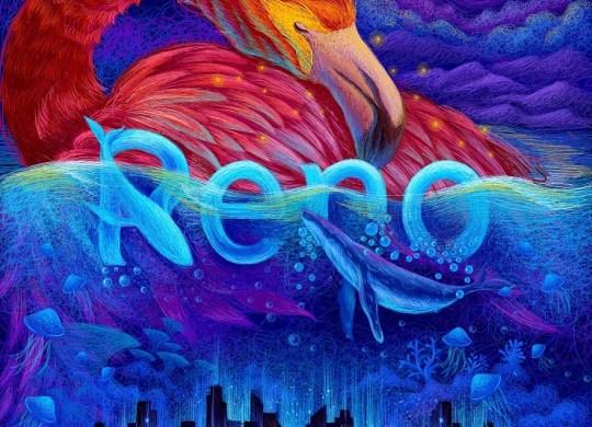 RENO representation by an artist