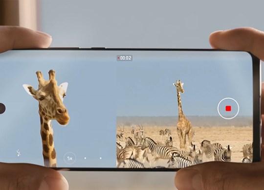 Huawei P30 - Dual-View-Video
