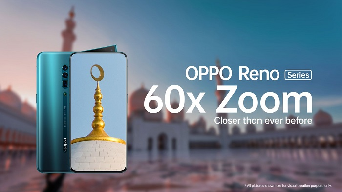 OPPO Reno 10x Zoom Edition with 60x Digital Zoom to be available from June 3 in UAE