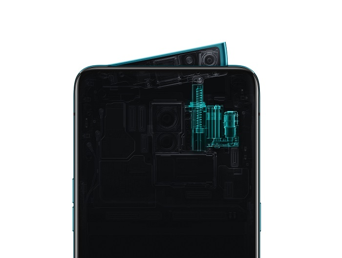 OPPO Reno Internal Camera Structure