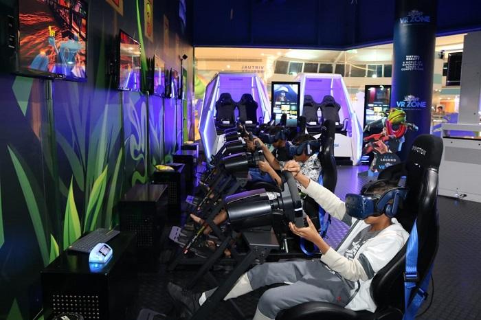 Sparky's VR Zone in Mushrif Mall Abu Dhabi