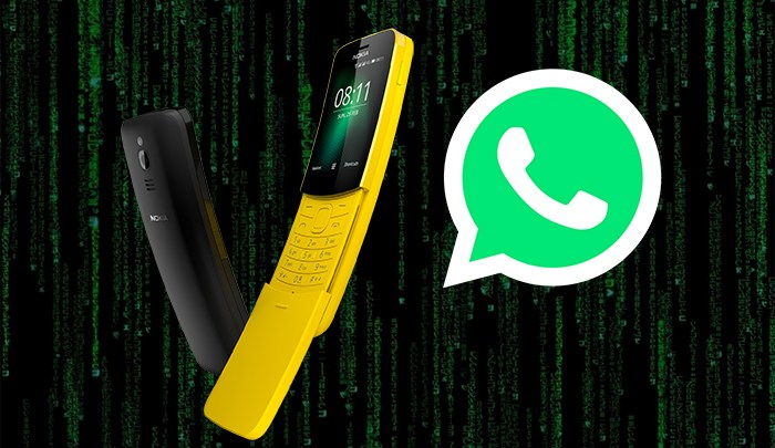 Nokia's Matrix Phone Gets Whatsapp