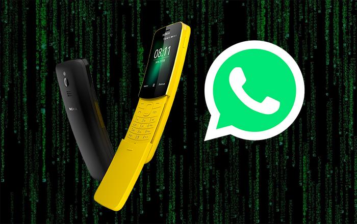 Nokia's Matrix Phone Gets Whatsapp