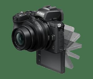 Nikon-Z50-Movable Screen