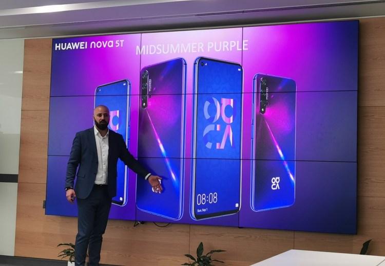 Huawei Nova 5T Smartphone - Mid Summer_purple