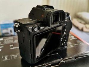 Sony-α7R-IV-Camera-Left-view