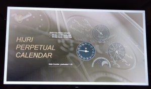 At the launch of Parmigiani Fleurier Hijri Calendar Wristwatch-Data Counter