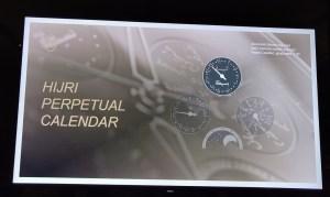 At the launch of Parmigiani Fleurier Hijri Calendar Wristwatch-Year Counter