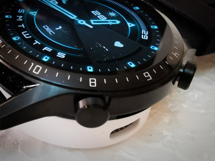 Huawei GT2-Watch- Dial- Buttons