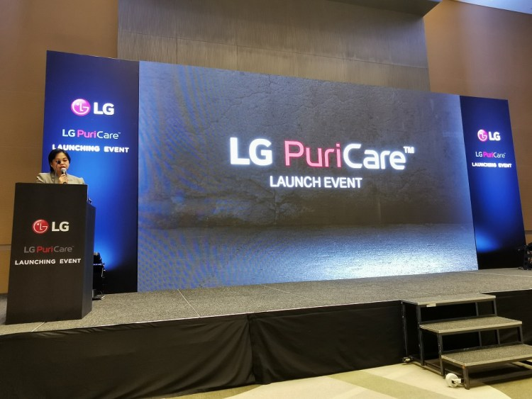 LG Electronics PuriCare Mini Air Purifier launch event in Sofitel Downtown - Dubai