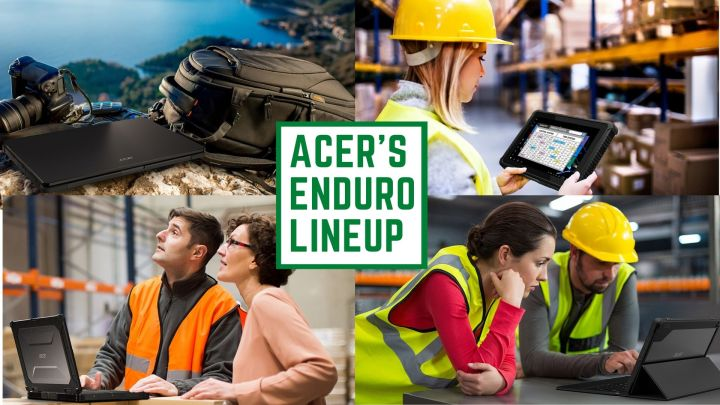 Acer launches Enduro Series Of Rugged Notebooks