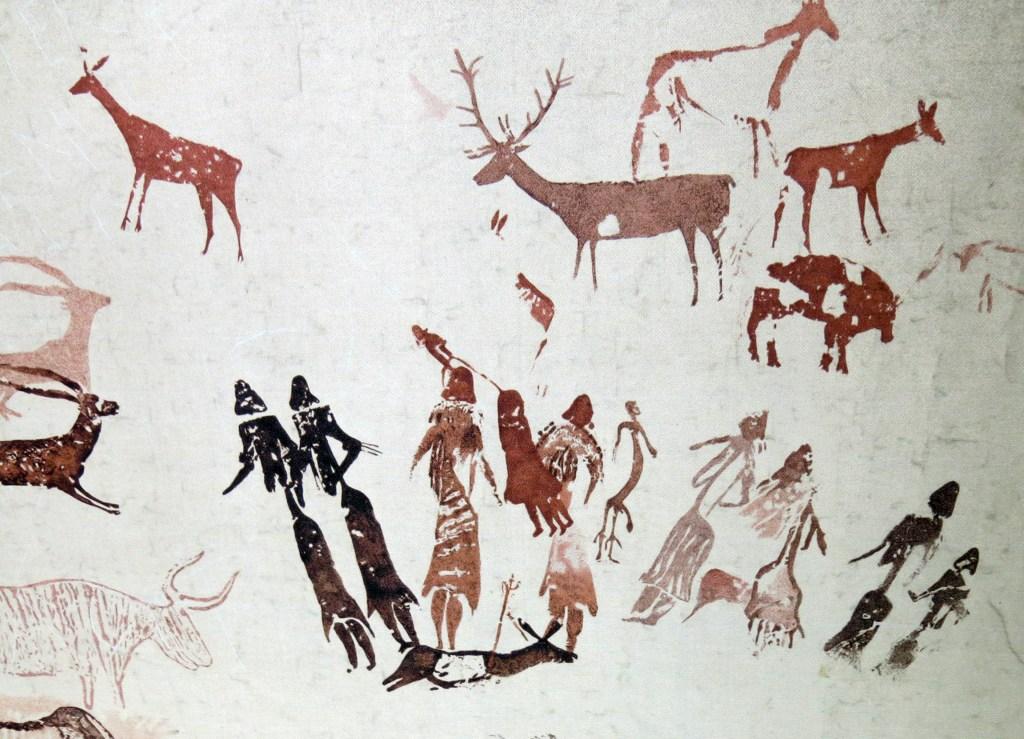 Pintures de la cova dels Moros, exposició al Museu de Gavà