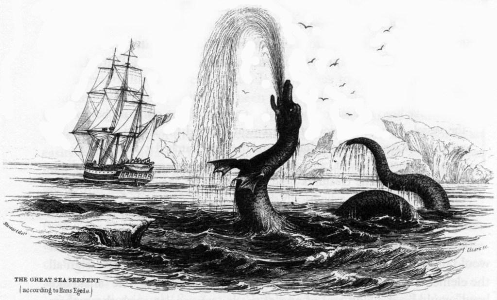 Hans Egede  sea serpent