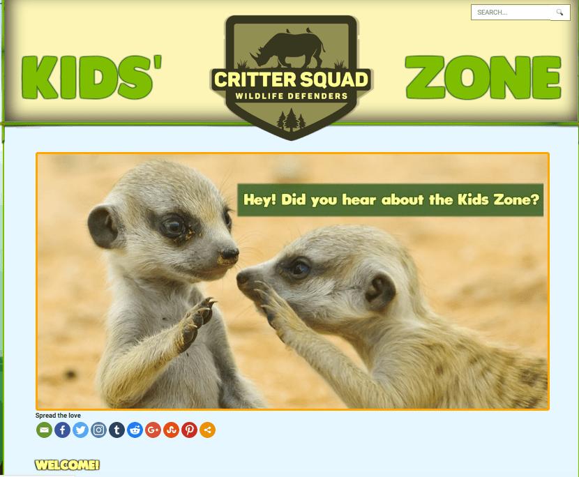 Critter Squad Kids' Zone