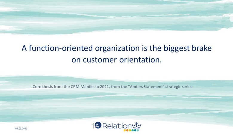 Time for a Paradigm Shift - The CRM Manifesto