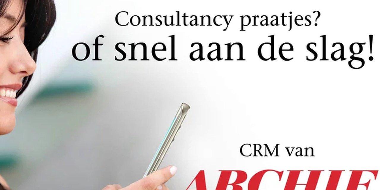 Archie CRM, relatiebeheer en online CRM