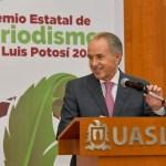 Gobernador JM Carreras entrega el premio estatal de periodismo 2021