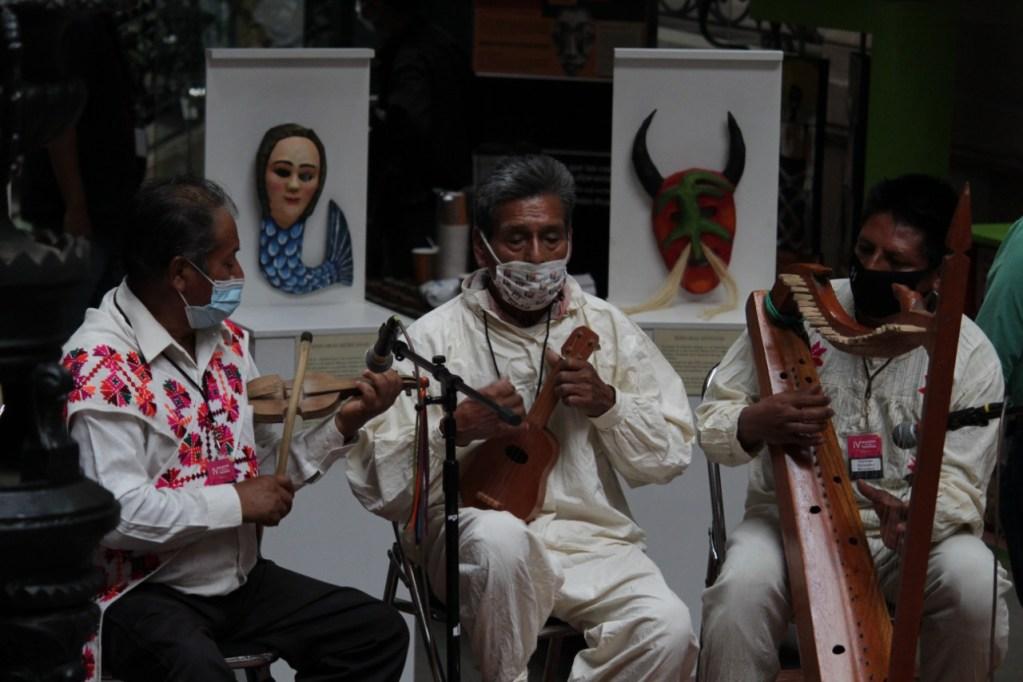 Se llevaron a cabo diversas actividades con la presencia de los pueblos rarámuri, ñuv savi, wirrárika, tének, nahua, xi'iuy y triqui
