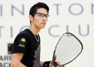 El racquetbolista potosino André Parrilla recientemente participó en el Campeonato Mundial Abierto Singles y Dobles