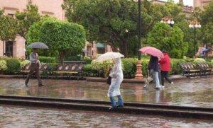 En San Luis Potosí esta tarde se pronostican lluvias puntuales intensas, acompañadas de actividad eléctrica y granizo
