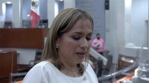 """""""Va por el"""" diputada Yolanda Cepeda llora al recordar a su padre"""
