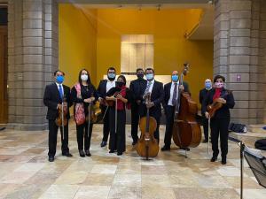 """Camerata de San Luis interpretará una selección de la obra """"Pieza Histórica"""" sobre la Independencia de México, del compositor José Antonio Gómez"""
