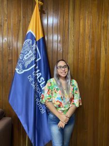 Rebeca Robledo González, estudiante de la UASLP,fue designada por la administración del municipio de Valles como directora de Atención a la Juventud.