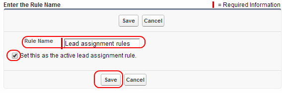 lead assignment rules in salesforce