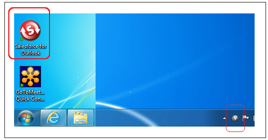 Installing Salesforce for Outlook Software on a local machine