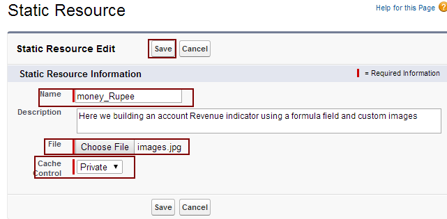 Creating an Account Revenue Indicator with Formula Field