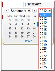Extend Your Year Range to 2025 on salesforce.com Calendar