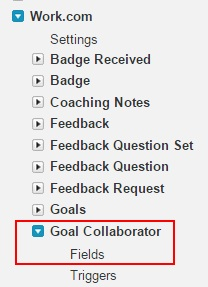 enabling history for goal collaboration fields