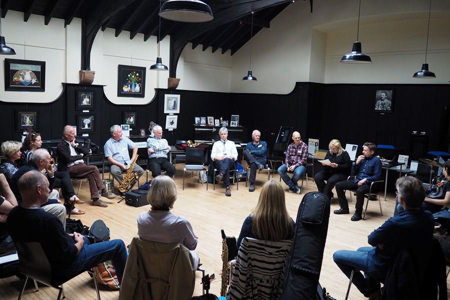 Laura MacDonald Jazz Workshop at Mackintosh Queens Cross