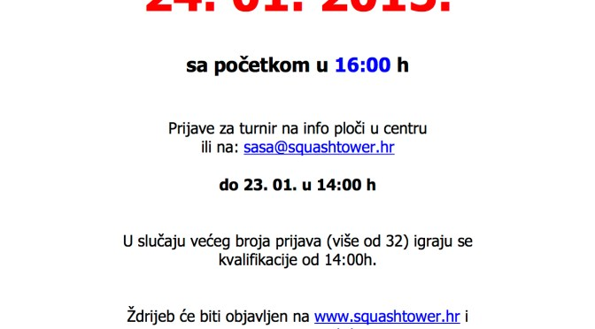 4. Squashtower Open